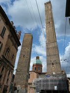 Bologna Italy Towers Architecture City Urb