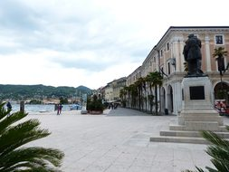 Salo, City, Promenade, War Memorial