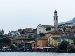 Limone Sul Garda, Limone, Town View