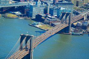 Brooklyn Bridge New York New York City Usa