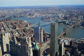 Brooklyn Bridge, New York, Manhattan