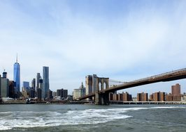 Brooklyn Bridge, Nyc, New York, Bridge