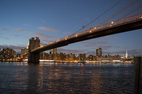 Brooklyn Bridge, Manhattan, Downtown