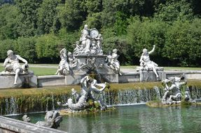 Fountains, The Royal Palace Of Caserta