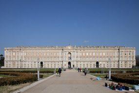 Caserta Palace Vanvitelli Italy Architectu