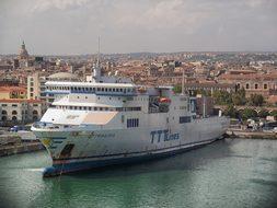 Catania, Sicily, Ocean Liner, Cruise