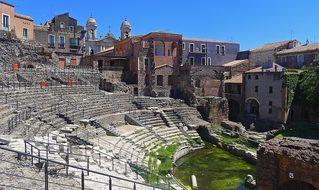 Catania Teatro Romano Roman Theatre Italy