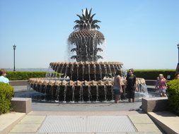 Pineapple Fountain Charleston South Caroli