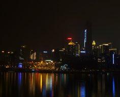 Night View, China, City, Chongqing