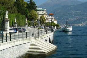 Italy, Lake Como, Tremezzo, Vacation