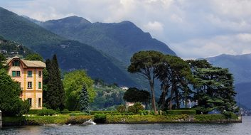 Lake, Como, Northern, Italy, Luxury