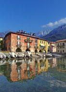 Mandello Lake Como Shore Granda Italy Lomb