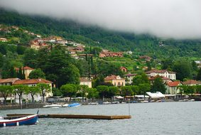 Clouds, Lake Como, Italy, Travel