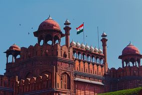 Red Fort Delhi India Travel Ancient Castle