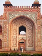 India Delhi Tomb Akbar Khan Architecture D