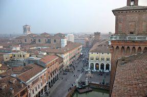 Ferrara, City, History, Italy