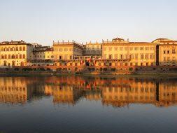 River, Arno, Tuscany, Florence