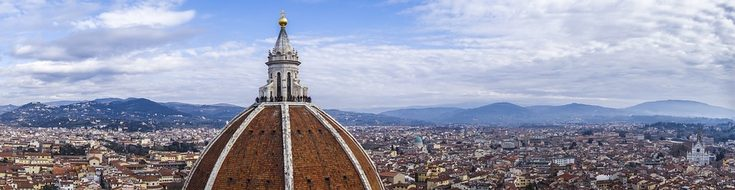 Cathedral Florence View Cityscape City Hom