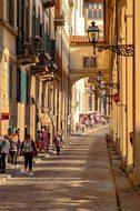 Street, Arcades, Architecture, Ancient