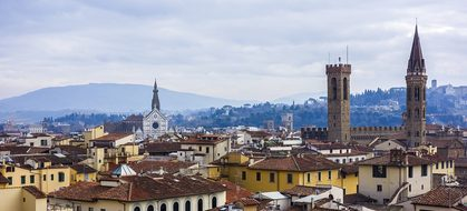 Florence Cityscape City Homes Church Build