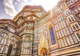 Cathedral Florence Dome Italy Church Outsi