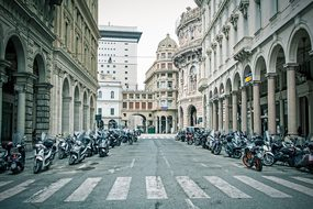 Italy, Traffic, Street, Urban, Genoa