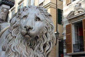 Genoa, Italy, Liguria, Leo, Marble