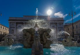 Fontana, Waters, Architecture, Travel