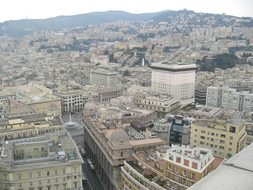 Genoa, Italy, Overview, Center, City