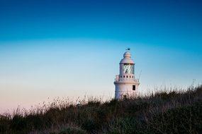 Lighthouse Sea Costa Sky Port Gibraltar Bl