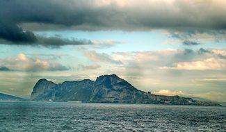 Gibraltar, Strait, Mountains, Cliff