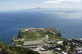 Gibraltar Mediterranean Sea Horn Africa La