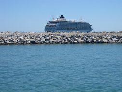 Gibraltar, Spain, Sea, Port, Ship