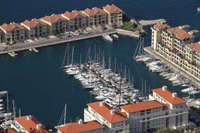 Marina, Gibraltar, Port, British, Harbor