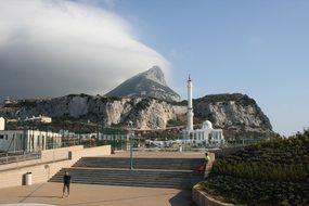 Gibraltar Rock Mosque Gibraltar Gibraltar