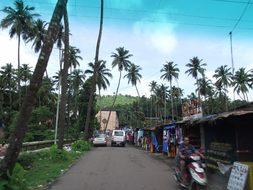 India Street Goa Asia City Road Outdoors P