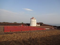 Fort Watchtower Aguada Fortress Landmark F