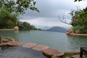 Pool Nature Sky Vacation India Goa Goa Goa