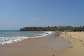 Beach Sea Arabian Goa Bogmalo India Goa Go