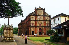 Goa Basilica Bom Jesus Church Cathedral Ci