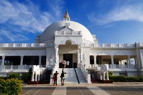 Buddha Vihar, Dome, Gulbarga, Karnataka