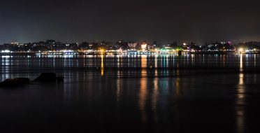 Guwahati India Assam City Landscape Night