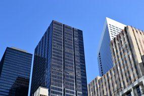 Buildings, Houston, Texas, Cityscape