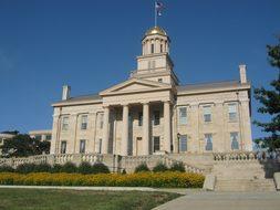 Iowa City, Capitol, Iowa, City, Usa