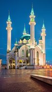 Russia, Kazan, The Kremlin, Mosque