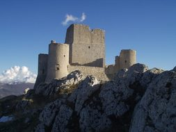 Castle, Ruin, Old, Towers, L'Aquila