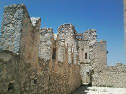 Rocca Calascio San Marino Castle Italy L'A