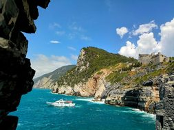 Portovenere, Sea, Rocks, Mountains