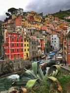 Riomaggiore Cinque Terre Italy Manarola La