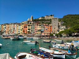 Portovenere, Colored Houses, Terrace